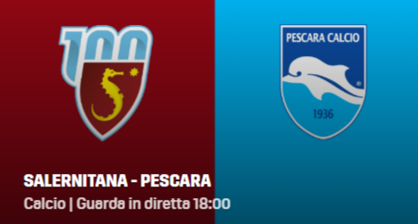 Salernitana Pescara, diretta streaming gratis e tv: dove ...