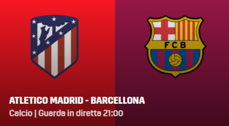 atletico madrid barcellona